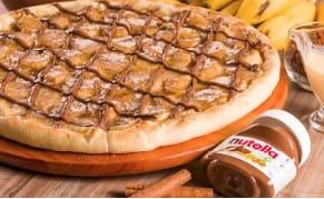 Black week: pizza de banana com nutela grande