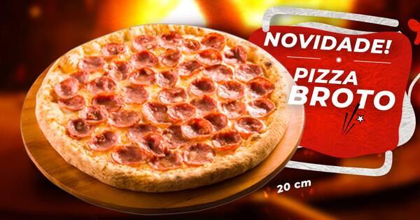 Promoção de pizza broto 20 cm