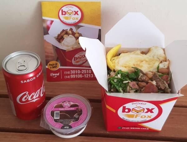 Mineiro (Box Executivo 400grs) + Refrigerante Pequeno + Sobremesa