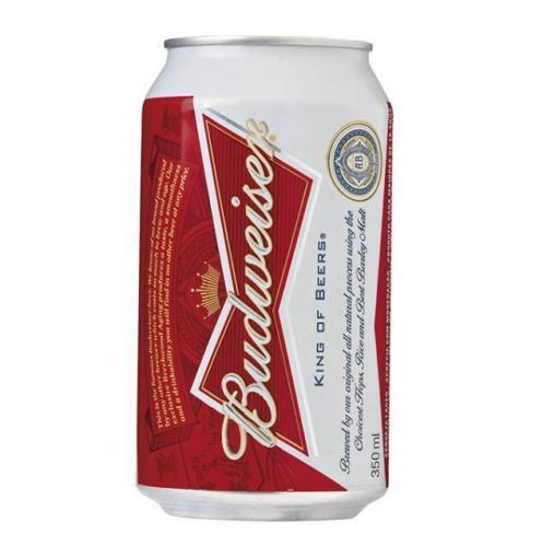 Cerveja Budweiser 355ml