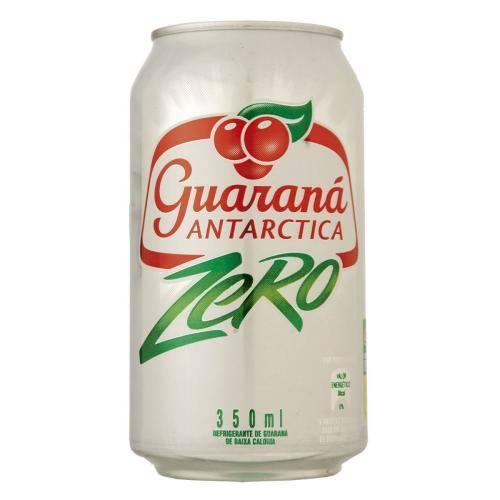 Guaraná Antarctica zero lata 350ml