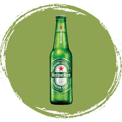 Cerveja long neck - Heineken