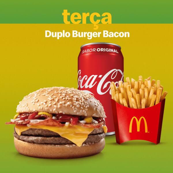 McOferta duplo burguer bacon