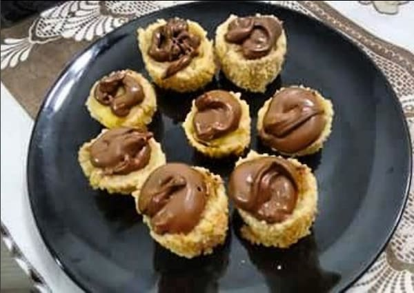 06 - hot roll banana com Nutella (8 unidades)