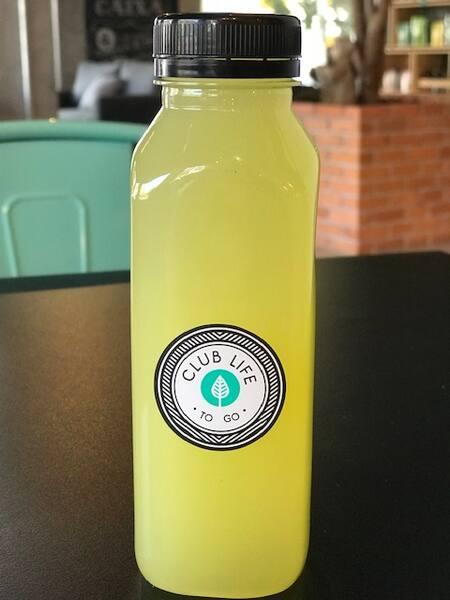 Suchá de capim limão, abacaxi e manjericão 300ml