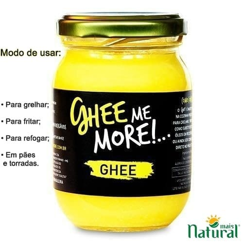 Manteiga ghee me more - Original