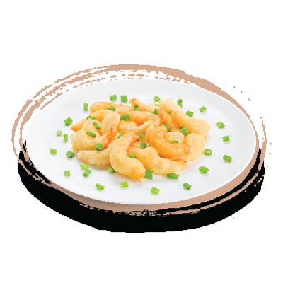 Promoção: camarão empanado - porção