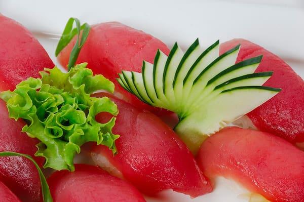 Maguro sushi - 9 unidades