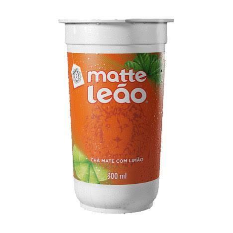 Chá matte leão c/ limão