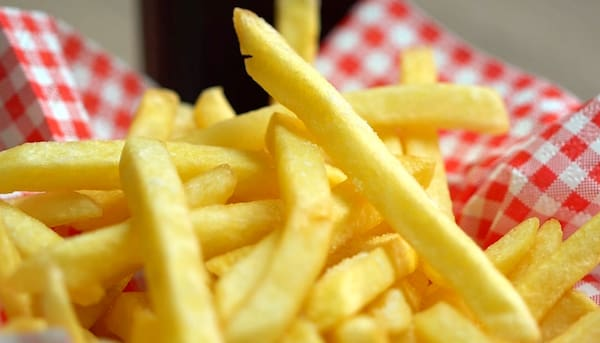 Batata frita com cheddar (marca Catupiry) - 400 gramas