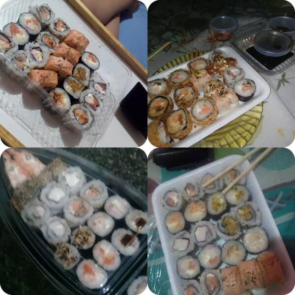 Quero sushi agora!