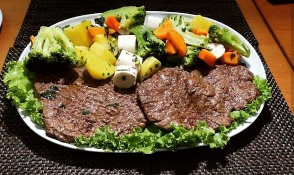 Baby beef legumes
