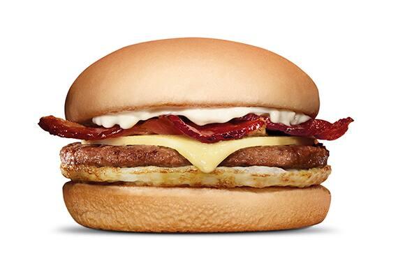 X-burguer bacon com ovo