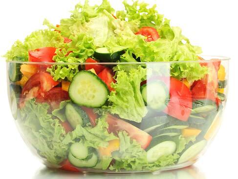 Salada nobre grande: grelhado+mix de folhas + 3 opções
