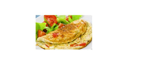 Omelete presunto queijo tomate +(mini salada cortesia)