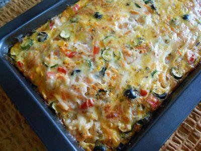 Gratinado de legumes(4º feira)