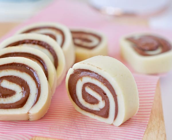 Rocambole de Ninho c/ Nutella