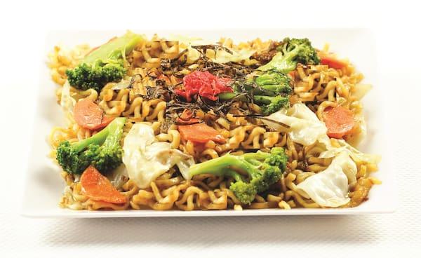 Yakissoba vegetariano
