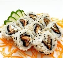 Uramaki skin com cream cheese