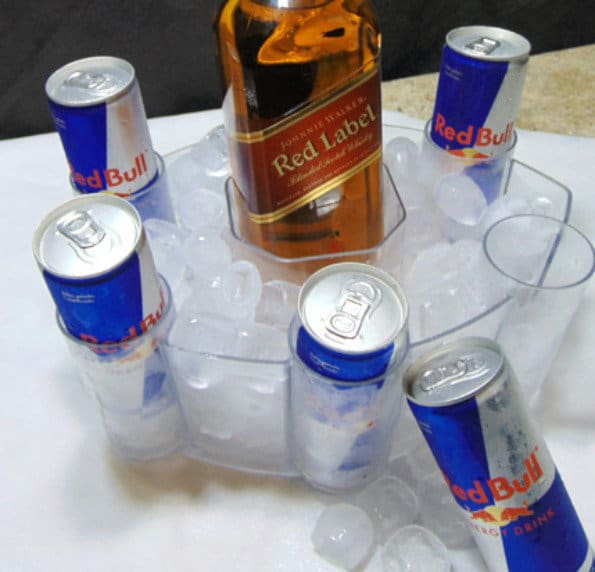 COMBO RED LABEL + 5 RED BULL (lata)