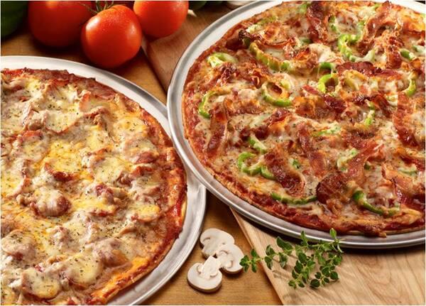 2 pizzas grandes especial