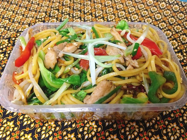 M4 chicken chow mien