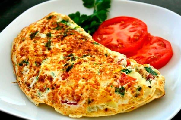 Omelete misto + Guaraná Antartica 350ml grátis
