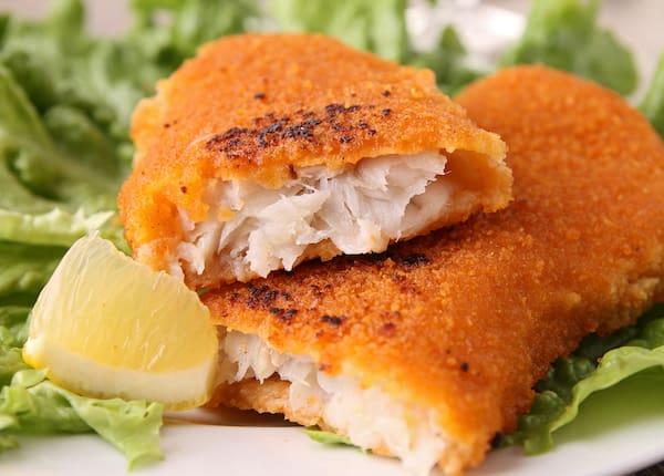 Filé de peixe frito