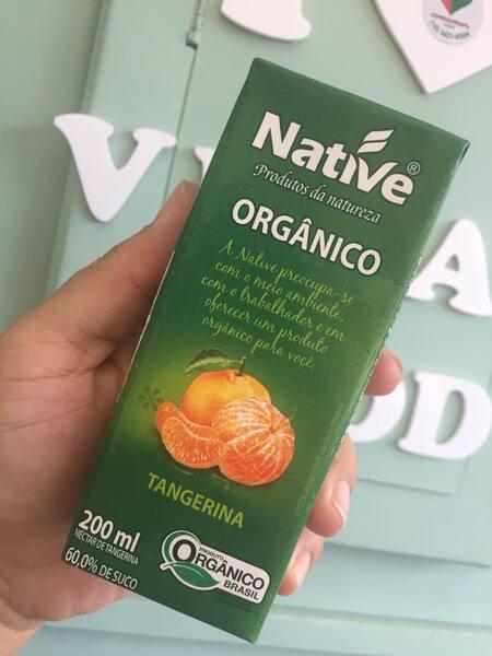 Suco de tangerina orgânico