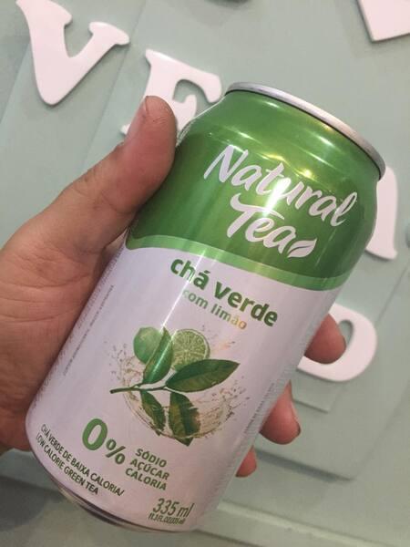 Chá verde com limão