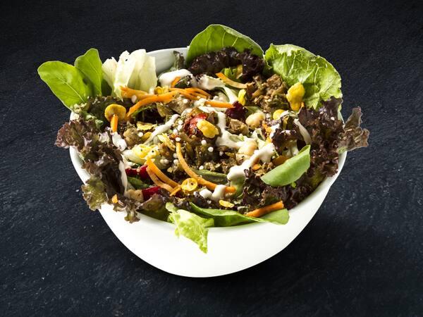 Crie sua salada