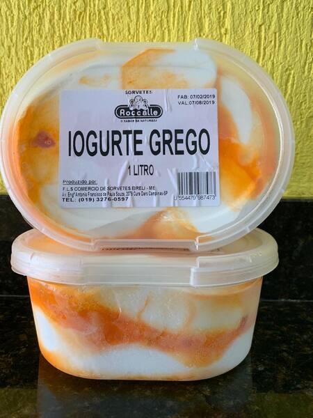 Iogurte grego 1 litro