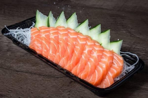Porção de Sashimi Salmão
