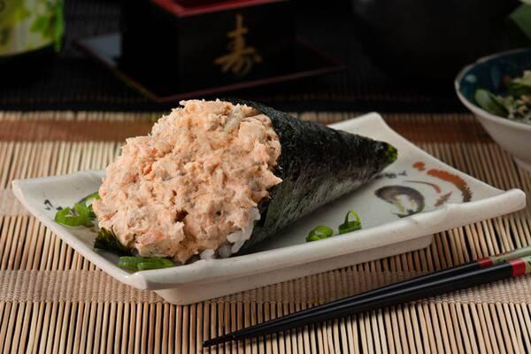 3- temaki salmão grelhado