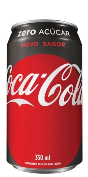 Coca-Cola Zero 350ml ( Lata )