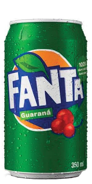Fanta Guaraná  350ml ( Lata )