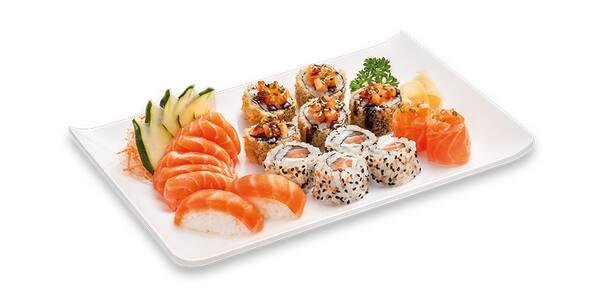 Combinado salmão premium - 19 unidades