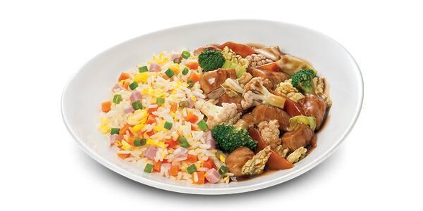 Frango com legumes - 500g