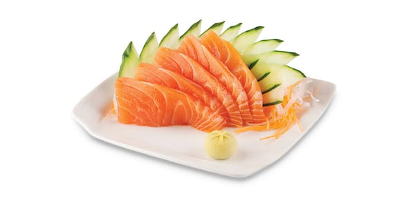 Sashimi salmão 5 unidades