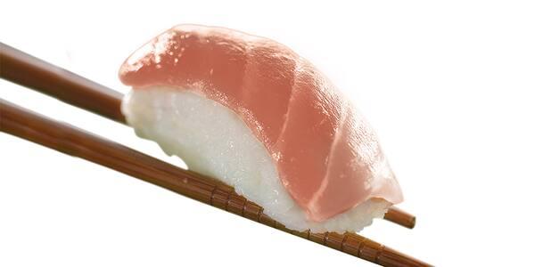 Niguiri peixe branco 4 unidades