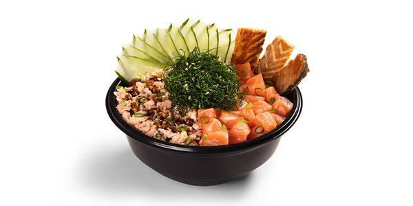 Poke bowl - salmão misto - del