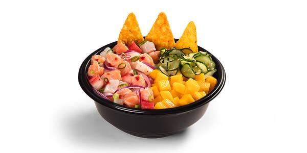 Poke bowl - ceviche - del