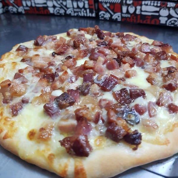 Esfihão de Bacon