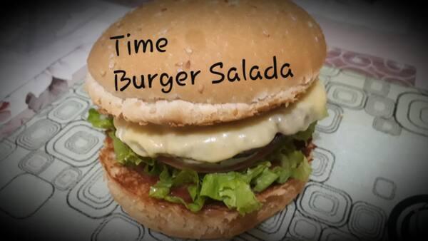 Time burger salada
