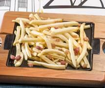 Fritas com Bacon