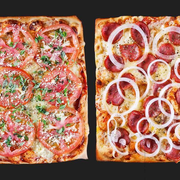 Promoção: 2 pizzas médias - variados sabores