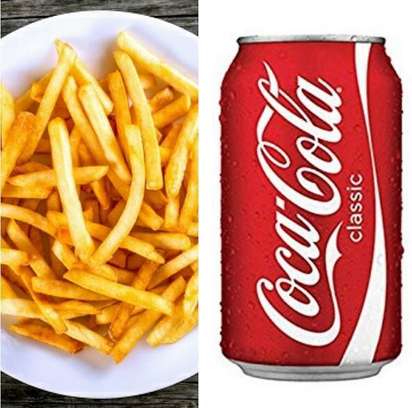 COMBO - Batata frita + refrigerante