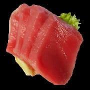 Sashimi de atum 4 peças 16,99