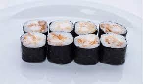 Maki gourmet com camarão no panko