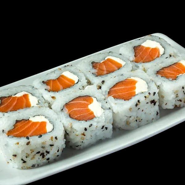 Uramaki com cream cheese 8 peças